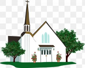 Summer Church Cliparts - Free Church Wedding Chapel Clip Art PNG