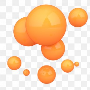 Bubble 3D Shapes - Three-dimensional Space Shape Euclidean Vector PNG