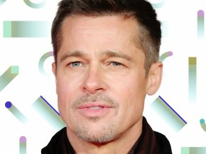 Brad Pitt - Brad Pitt Hollywood War Machine General Stanley McChrystal Hairstyle PNG