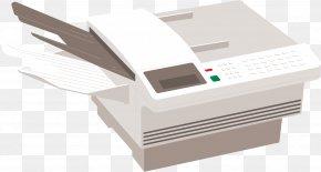 Printer Cartoon - Printer Paper Animation PNG