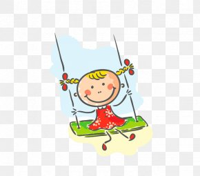 Swing Doll - Child Drawing Outdoor Recreation Game Clip Art PNG