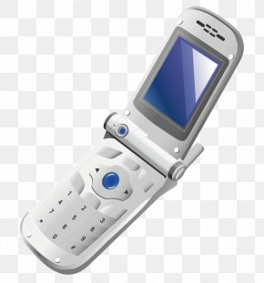Clamshell Phone - Feature Phone Smartphone Flip Mobile Phone PNG