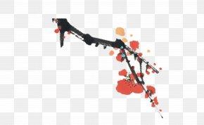 Ink Plum - China Desktop Wallpaper High-definition Video 1080p OnePlus 2 PNG