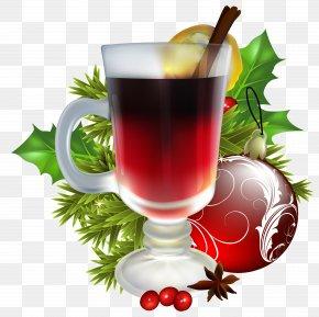 Christmas Tea With Christmas Decorations Image - Christmas Decoration Santa Claus Christmas Ornament PNG