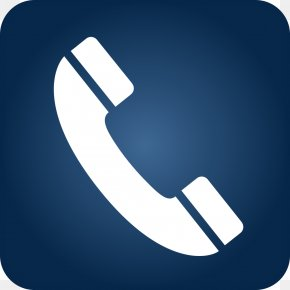 Telephone Icon Blue Gradient - IPhone Telephone Symbol Clip Art PNG