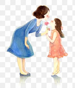 Mother's Day - Mother's Day Gift Father Daughter PNG
