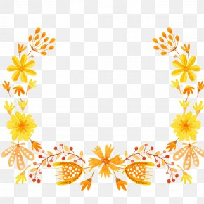 Cyclo - Borders And Frames Floral Design Clip Art Flower PNG