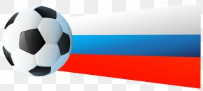 Russian Flag With Soccer Ball Clip Art Image - Brand Ball Wallpaper PNG