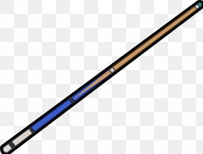 Pool Stick Pic - Cue Stick Pool Eight-ball Billiard Ball Clip Art PNG