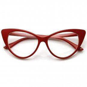 Glasses - Linda Belcher Cat Eye Glasses Sunglasses Lens PNG