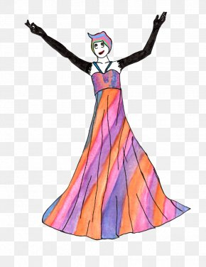 Dress - Costume Design Cartoon Dress PNG