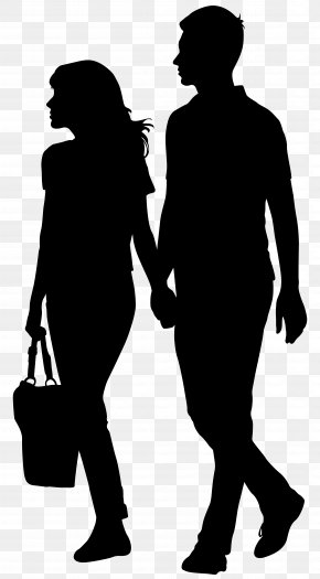Holding Hands Couple_Silhouette Clip Art Image - Song Lyrics YouTube Film MPEG-4 Part 14 PNG