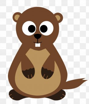 Warm Clipart - Groundhog Day Bear Hibernation Animal PNG