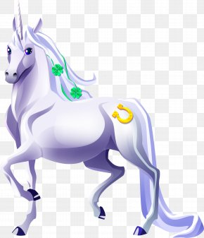 Unicorn - Mustang Pony Pack Animal Mane Unicorn PNG