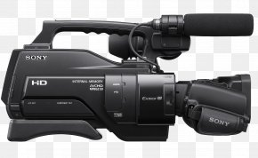 Video Camera Image - Professional Video Camera AVCHD Sony PNG