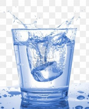 A Cup Of Water - Juice Fizzy Drinks Water Drinking PNG