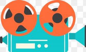 Cartoon Camera - Video Camera Movie Camera Icon PNG