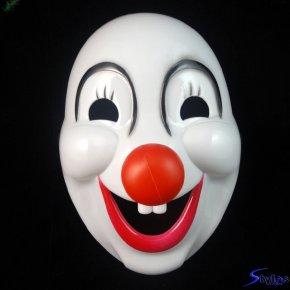 Anonymous Mask - Joker Mask Evil Clown Masquerade Ball PNG