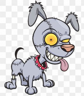 Tail Animation - Cartoon Dog Puppy Snout Animation PNG