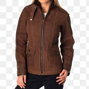 Jacket - Leather Jacket Clothing Flight Jacket PNG