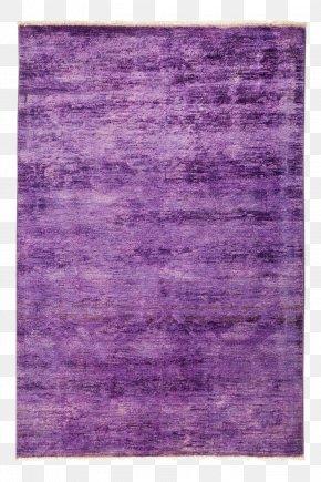 Carpet - Rectangle Carpet Purple Dye Area PNG