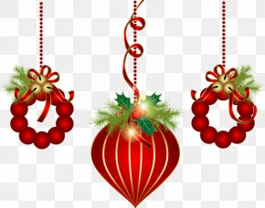 Christmas - Christmas Ornament Christmas Decoration Santa Claus Clip Art PNG