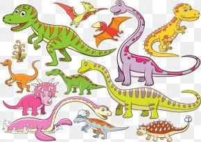 12 Cartoon Dinosaur Design - Dinosaur Cartoon Royalty-free Illustration PNG