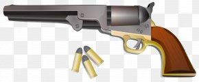 Guns - Cartridge Pistol Clip Art PNG