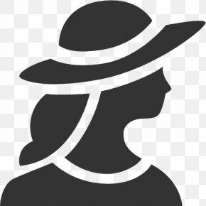 Silhouette - Portrait Photography Icon Design PNG