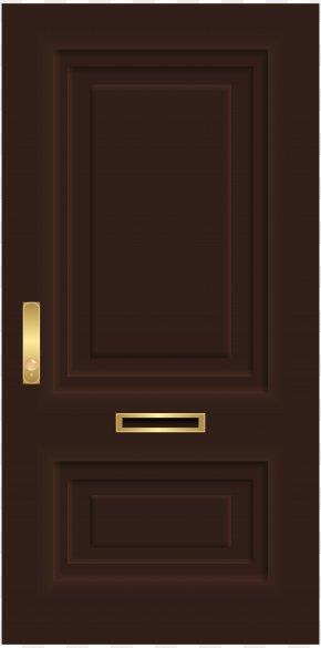 Door - Door Picture Frames Clip Art PNG