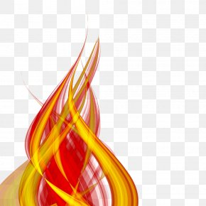 Light Effect Element - Light Flame PNG