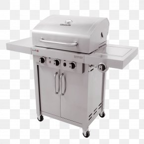 Professional Signature - Barbecue Grilling Char-Broil Signature 4 Burner Gas Grill Char-Broil Commercial Series PNG