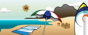 Summer Cliparts - Summer Season Clip Art PNG