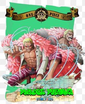 One Piece - Donquixote Doflamingo Monkey D. Luffy Usopp One Piece Treasure Cruise PNG