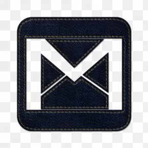 Gmail Square 2 - Emblem Brand Electric Blue Angle PNG