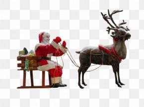 Christmas Atmosphere - Santa Claus's Reindeer Santa Claus's Reindeer Christmas Clip Art PNG