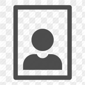 Portrait Size Icon - Portrait Photography PNG