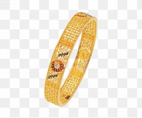 Gold - Bangle Gold Jewellery Woman Bracelet PNG