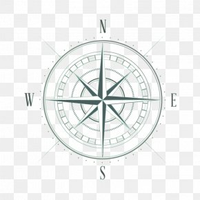 Vector Compass - Compass Drawing Sketch PNG