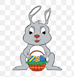 Rabbit - Easter Bunny Rabbit Egg Clip Art PNG