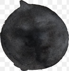 Black - Headgear Circle Fur PNG