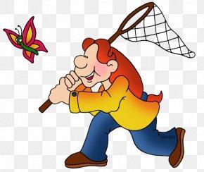 Butterfly - Butterfly Net Clip Art Illustration Image PNG