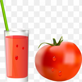 Vector Tomato - Tomato Juice Cocktail Orange Drink PNG