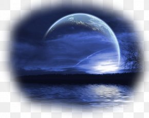 Moon - January 2018 Lunar Eclipse Blue Moon Lunar Phase New Moon PNG