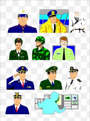 Various Military Uniform Material - Military Uniform Soldier PNG