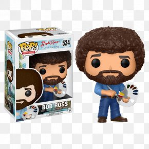 Painting - More Of The Joy Of Painting Funko Designer Toy Television Show PNG