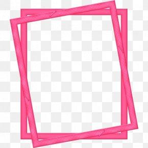 Pink Frame - Picture Frame PNG