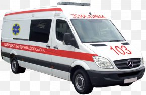 Ambulance - Van Ambulance Mercedes-Benz Sprinter PNG