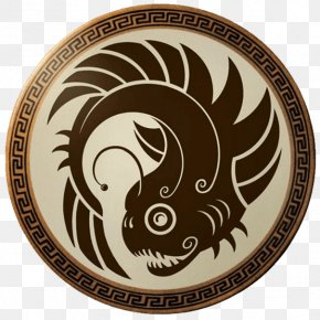 Shield - Round Shield Aspis Sparta Hoplite PNG