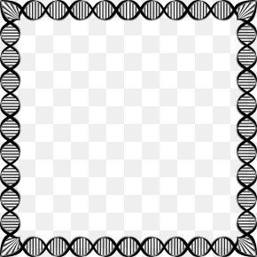 Biology Borders Cliparts - DNA Clip Art PNG